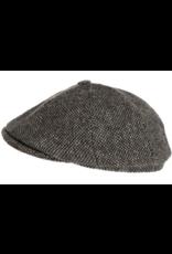 Hanna Hats Newsboy Tweed Cap by Hanna Hats