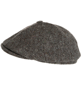 Hanna Hats Newsboy Tweed Cap