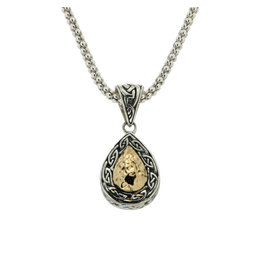Keith Jack Celtic Solstice Teardrop Necklace