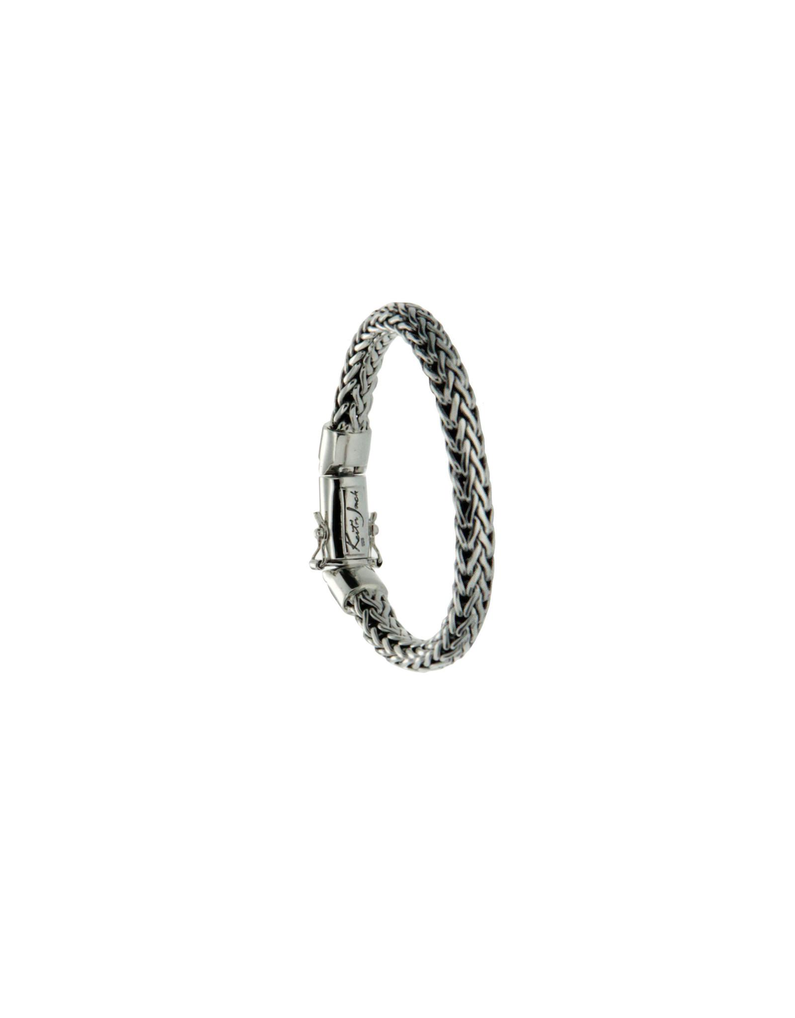 "Keith Jack Dragon Weave Bracelet 7.1"""
