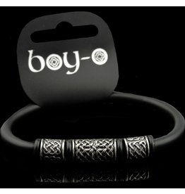 Black Dragon Crafts Boy-o  Celtic Pewter Bangle