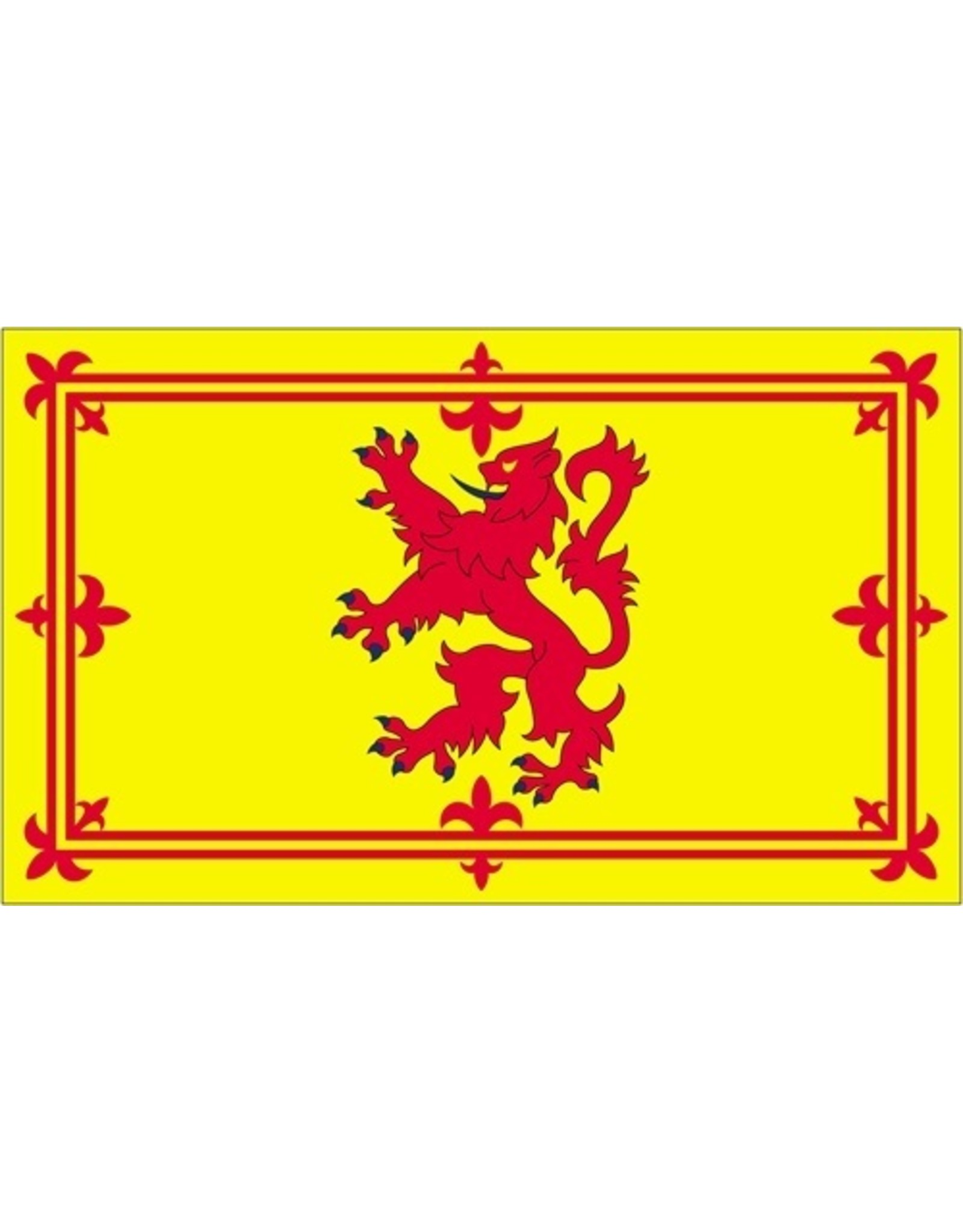Scotland Nylon Flag 3x5: Rampant