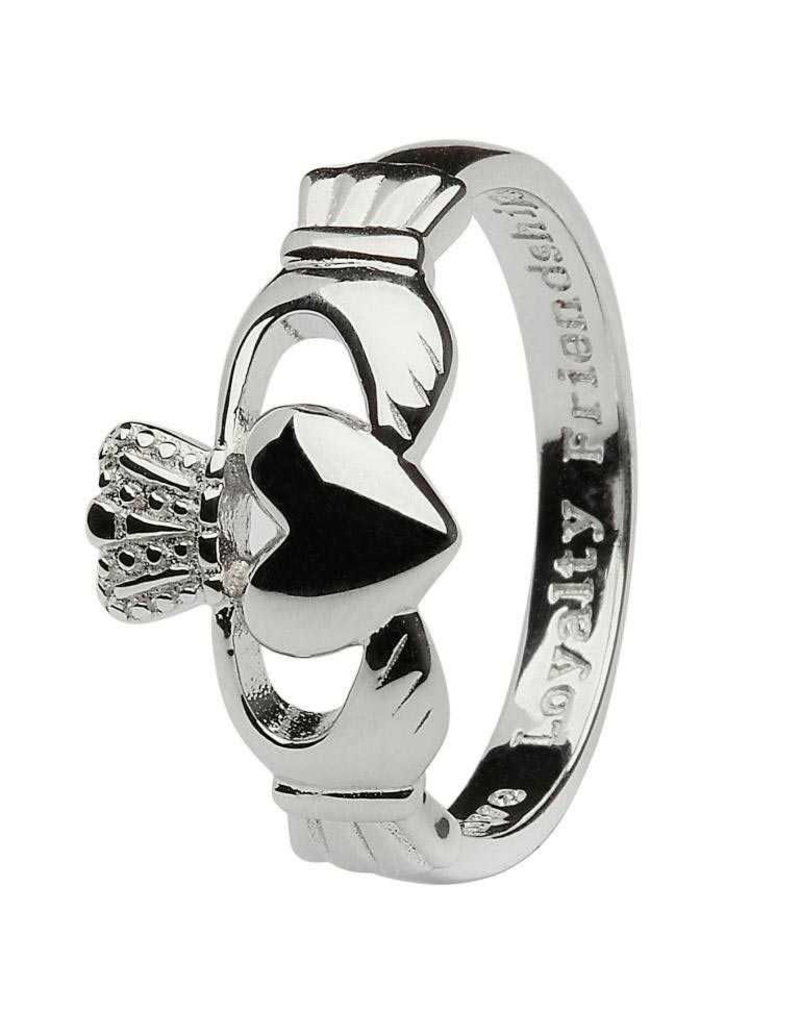 Shanore Sterling Silver Gents Claddagh Ring
