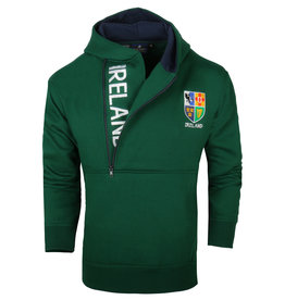 Malham USA Ireland Half-zip Hoody: Green