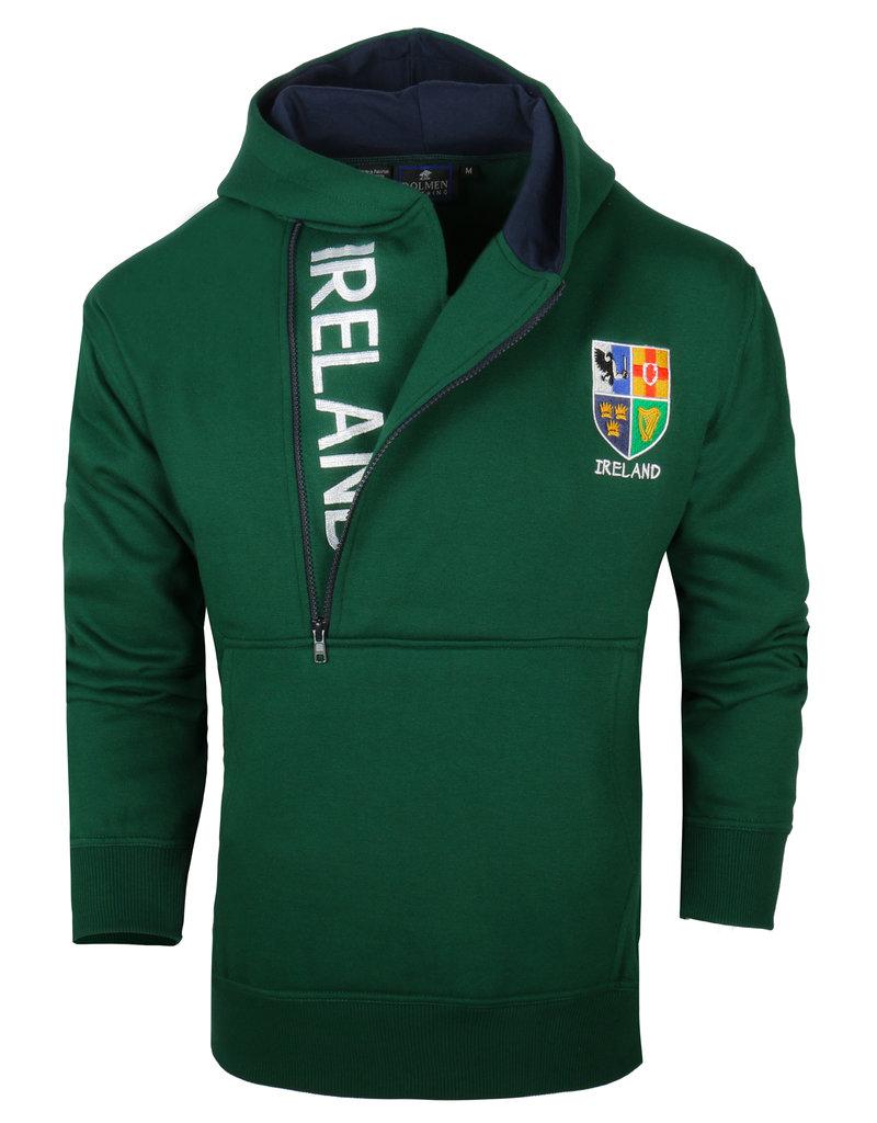 Malham USA Ireland Half-zip Hoody: Green