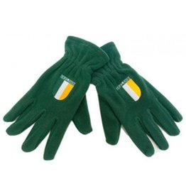 Donegal Bay Irish Gloves: Grn Fleece w/Flag