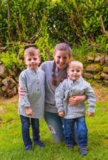Lee Valley Ireland Kids Flannel Grandfather Shirt