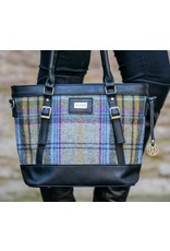Mucros Tartan + Leather Kelly Bag