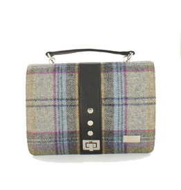 Mucros Tartan + Leather Fiona Bag