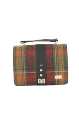 Mucros Fiona Tartan + Leather Bag