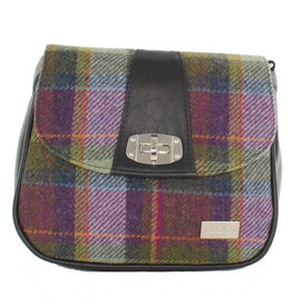 Mucros Tartan + Leather Sarah Bag