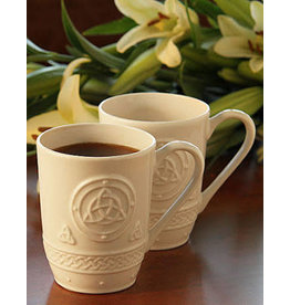 Belleek Belleek Celtic Mugs Set of 2