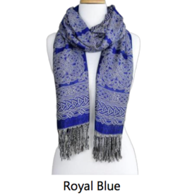 Because I Like It Noreen Celtic Knot Scarf/Shawl