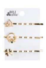 Because I Like It Celtic Hair Pins: Gold