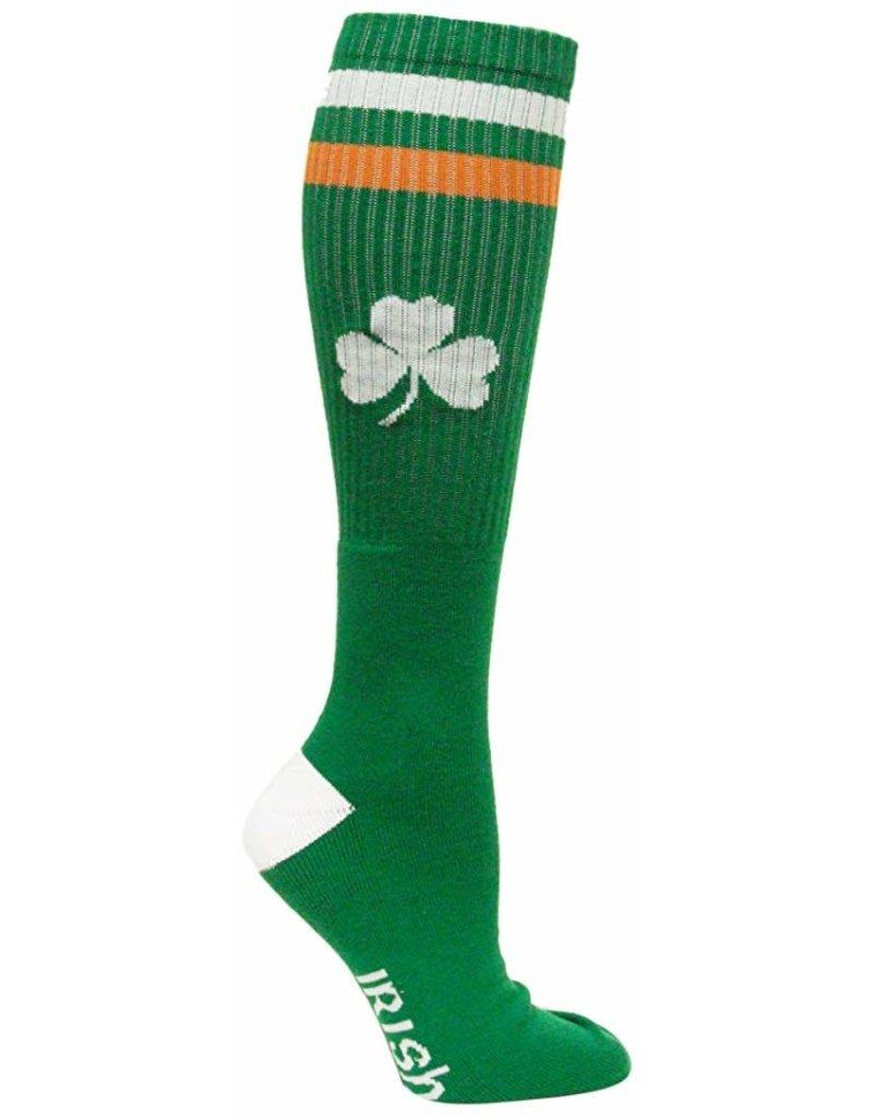 Donegal Bay Green Irish Tube Socks
