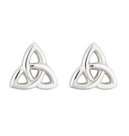 Solvar Silver Trinity Knot Stud