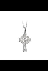 Solvar Sterling Silver Filagree Celtic Cross