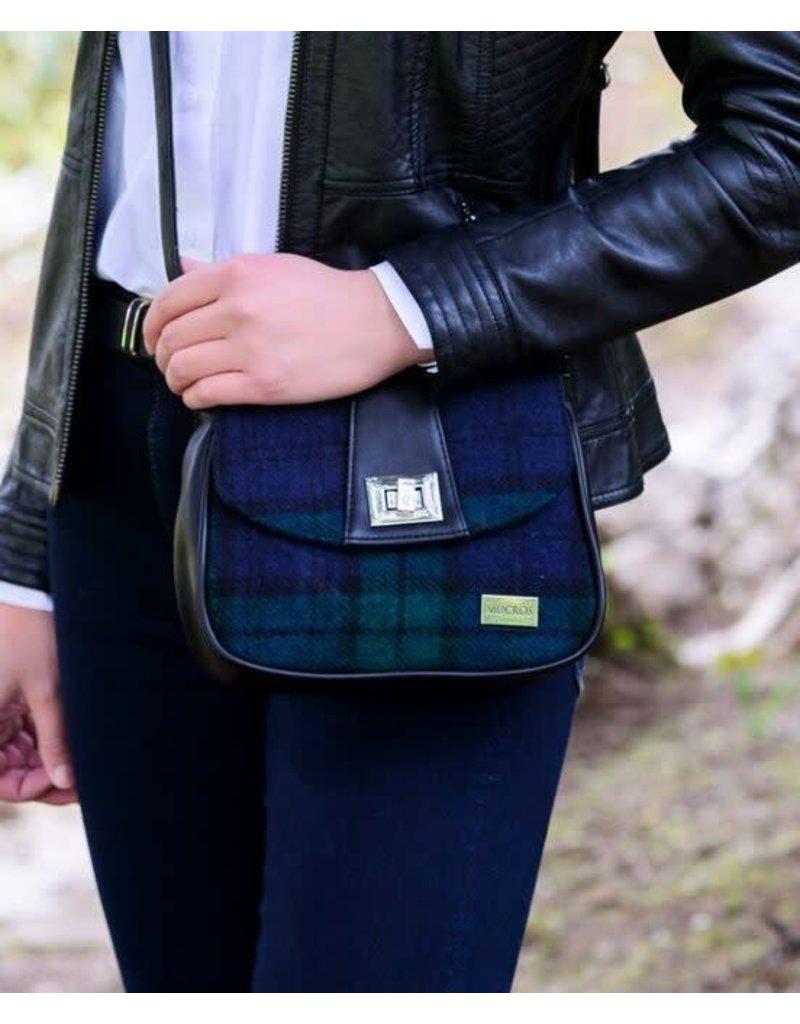 Mucros Tartan + Leather Sarah Bag