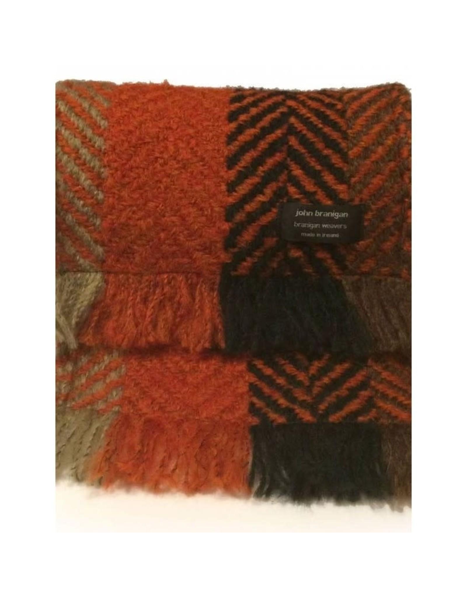 Branigan Weavers Wool Throw Blanket by Branigan Weavers