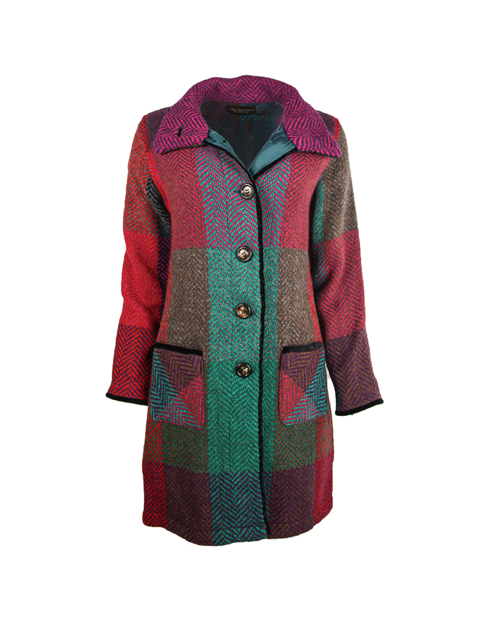 Branigan Weavers 'Emma' Donegal  Coat by Brangian Weavers