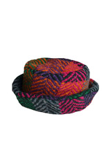 Branigan Weavers Branigan Country Hat: Multi Mulberry