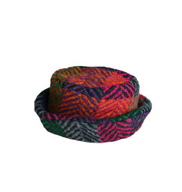 Branigan Weavers Branigan Country Hat: Multi Mulberry
