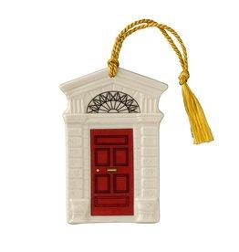 Belleek Belleek Georgian Red Door Ornament