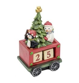 Bridgets of Erin Irish Christmas Countdown Train