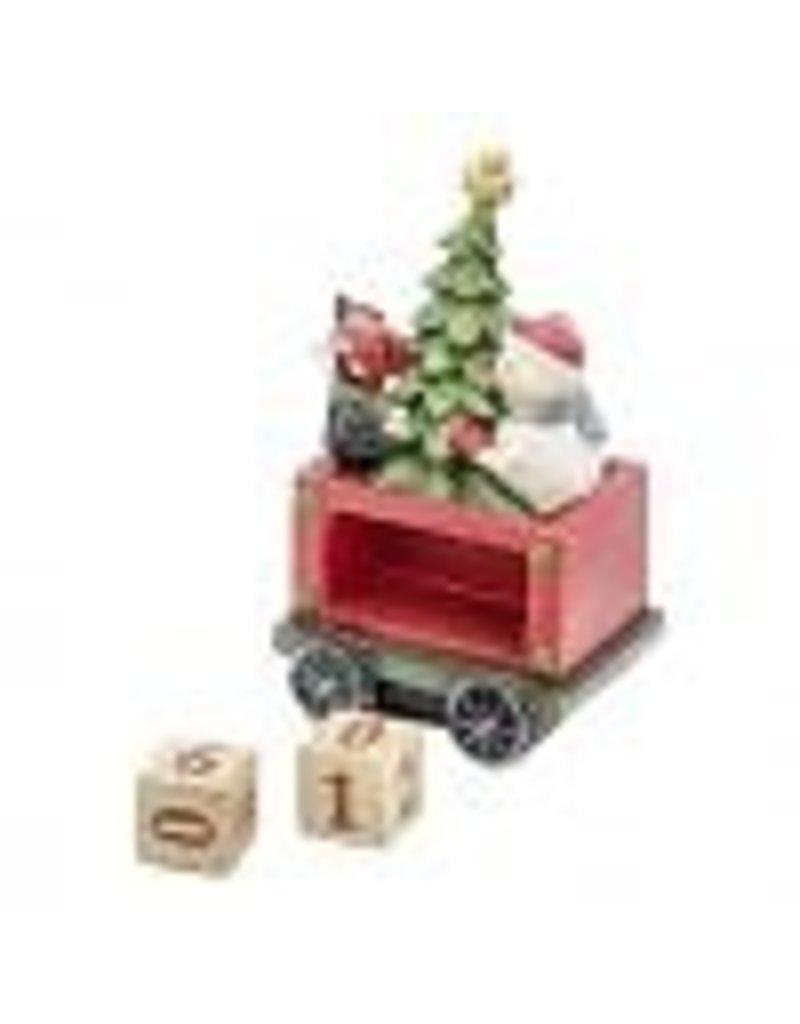 Bridgets of Erin Irish Christmas Countdown Train