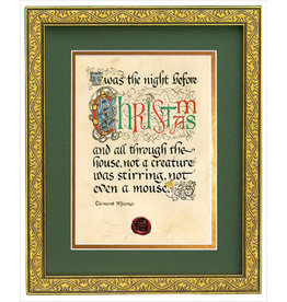 Celtic Card Company Night Before Christmas Framed Print