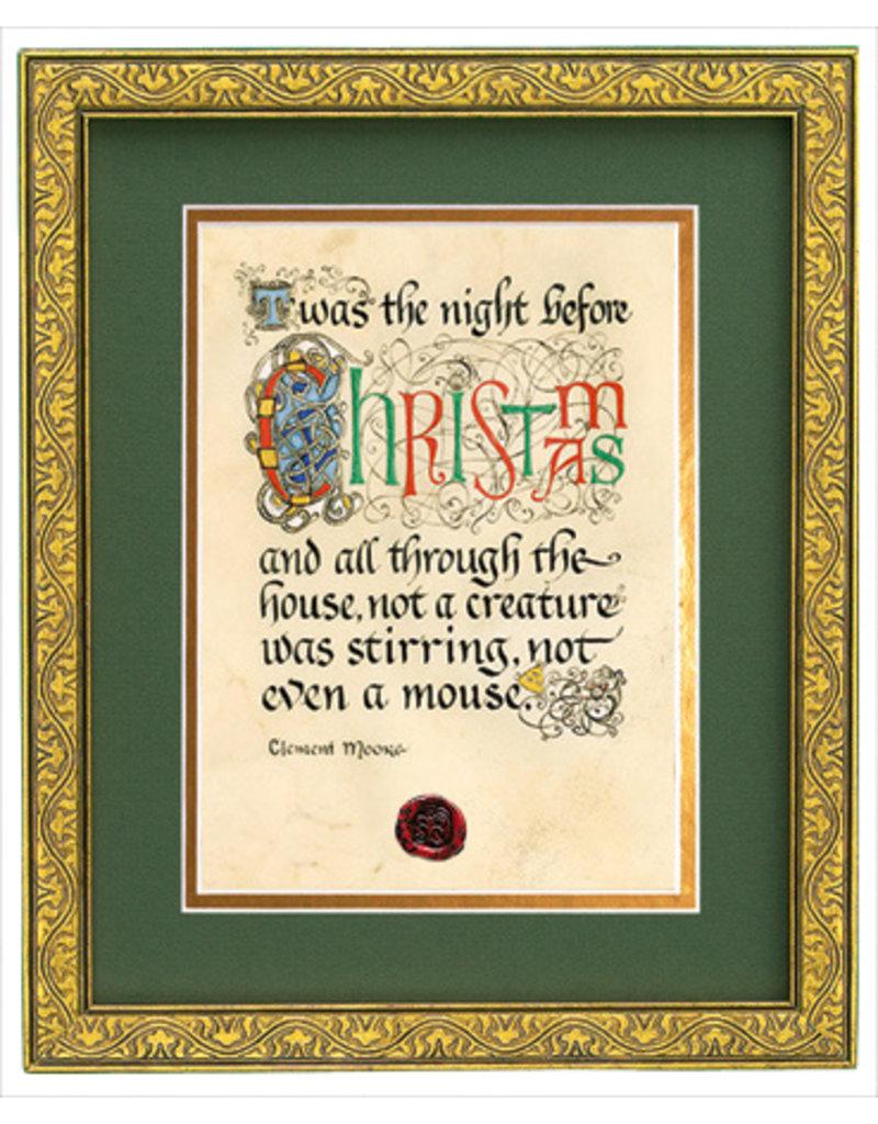 Celtic Card Company Night Before Christmas Framed Print