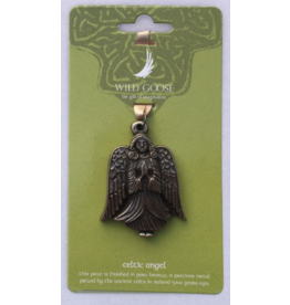 Wild Goose Studios Hand-cast Bronze Ornament: Angel