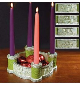 Abbey Press Bethlehem Scenes Advent Wreath