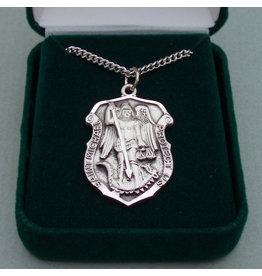 Robert Emmet Company Silver St Michael Shield - Heavy