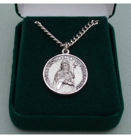 Robert Emmet Company Silver St. Patrick + St. Brigid Double-Sided