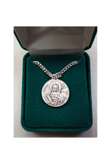 Robert Emmet Company Sterling Silver St. Patrick + St. Brigid Double-Sided