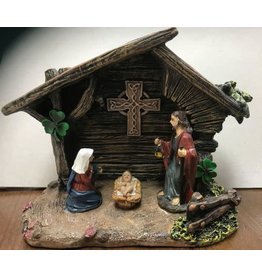 Bridgets of Erin Celtic Cross Nativity