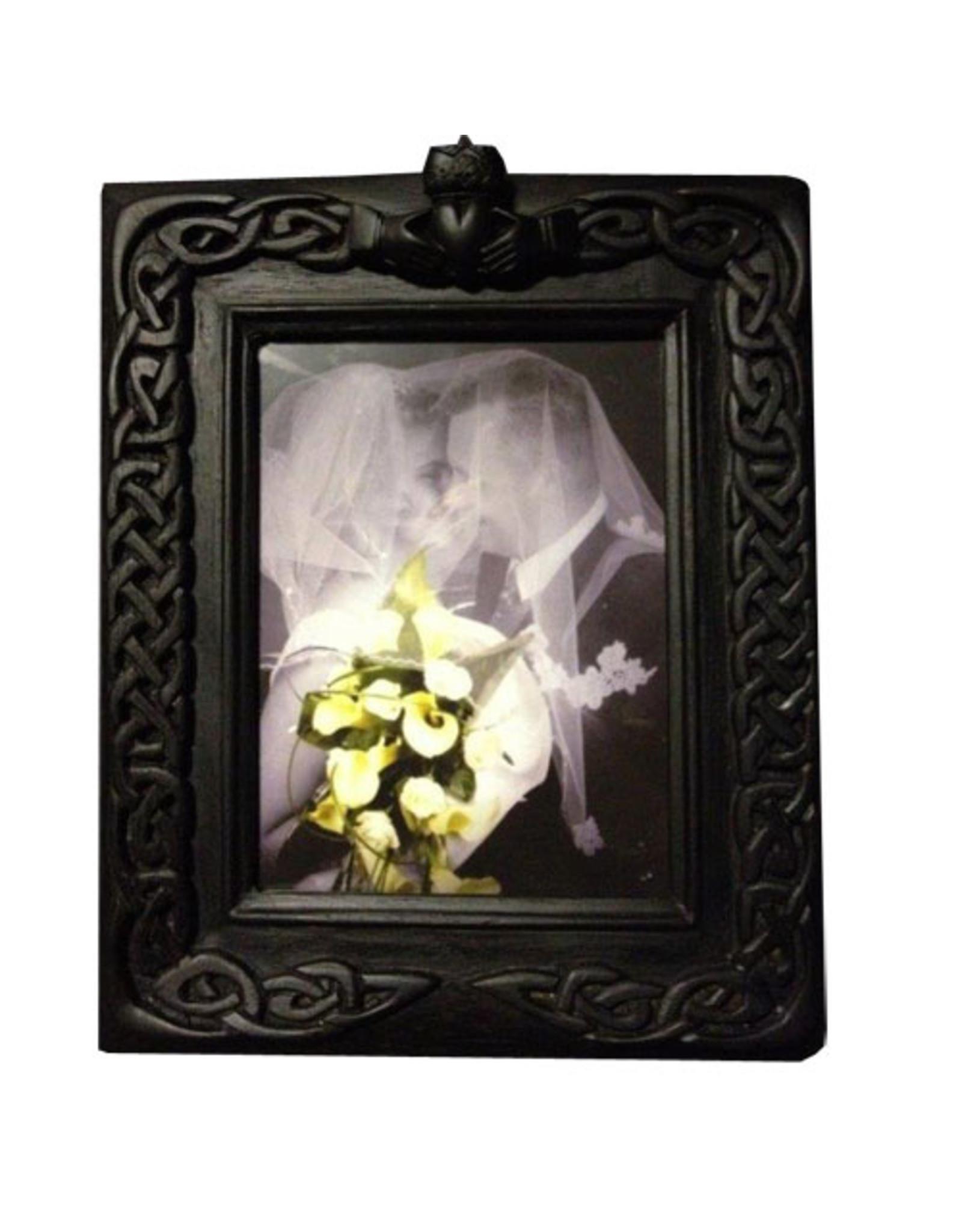 Black Bog Collection Black Bog Celtic Claddagh Wedding Frame