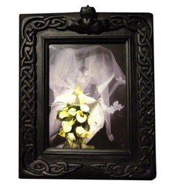 Black Bog Collection Black Bog Celtic Claddagh Wedding Frame