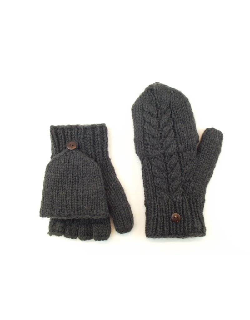 Erin Fleece Lined Cable Hunter Gloves