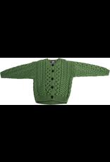 Aran Woollen Mills Children's Merino Wool Aran Cardigan