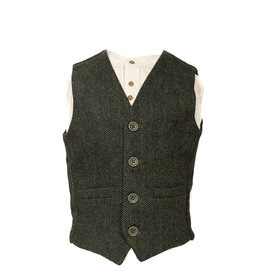 Retro Irish Kids Woolen Vest