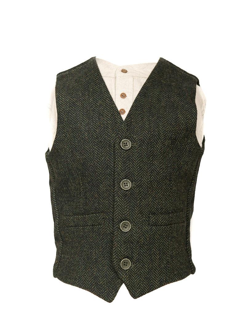 Retro Irish Kids Woolen Vest