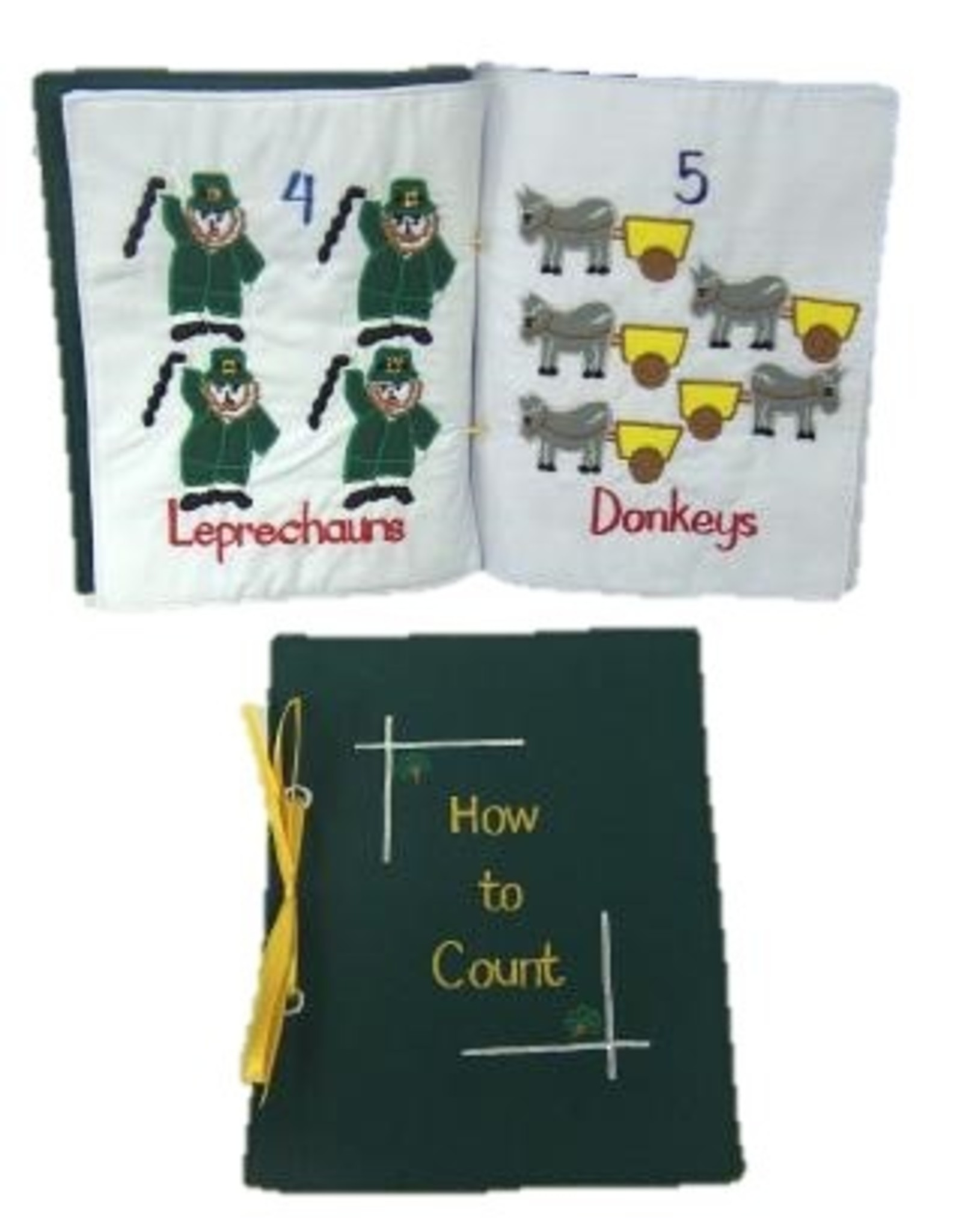 Bridgets of Erin Irish How to Count Soft Book