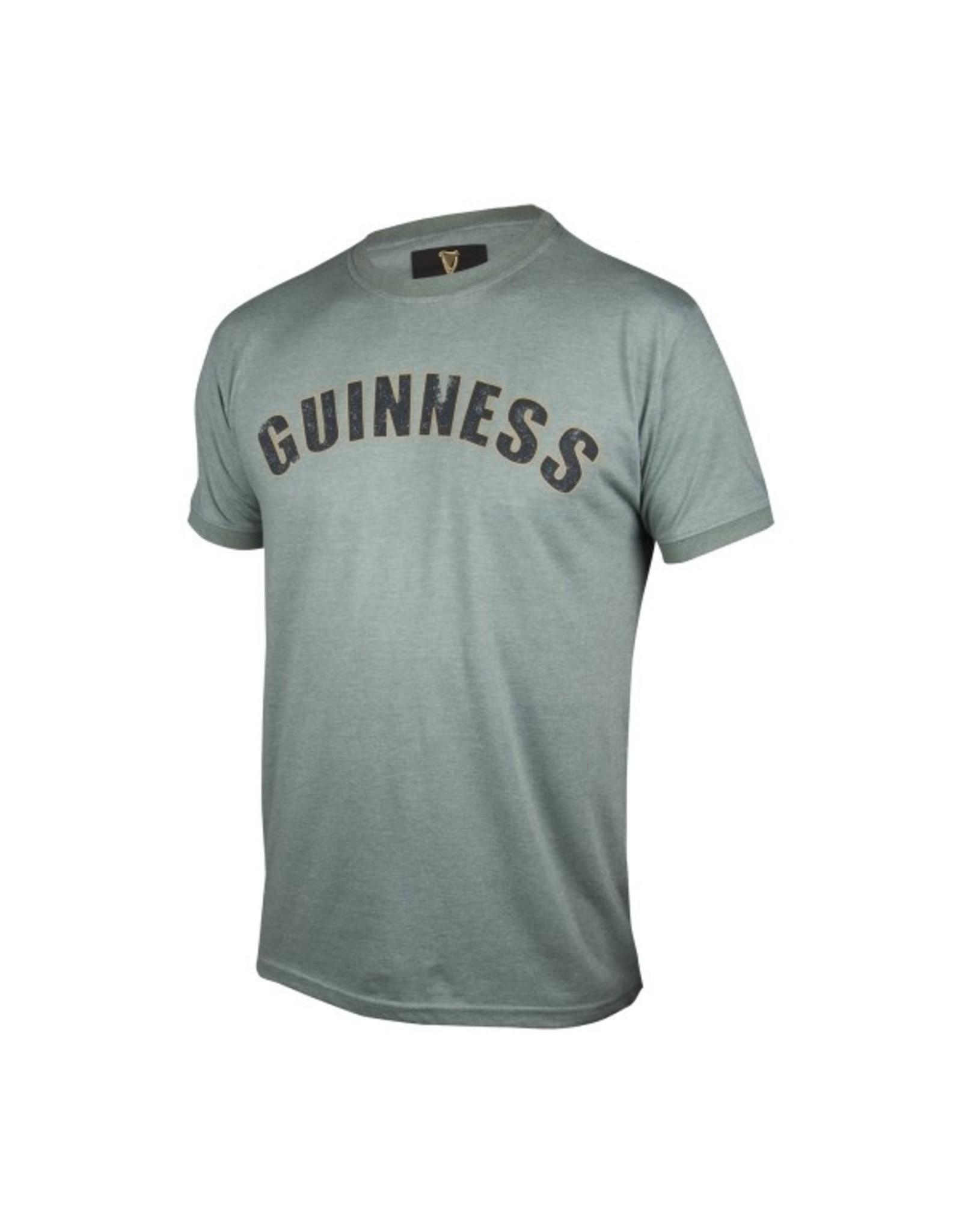 Guinness Guinness Green Heathered Bottle Cap T-shirt
