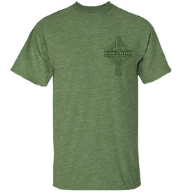Coastal Tees Celtic Cross Ireland T-shirt