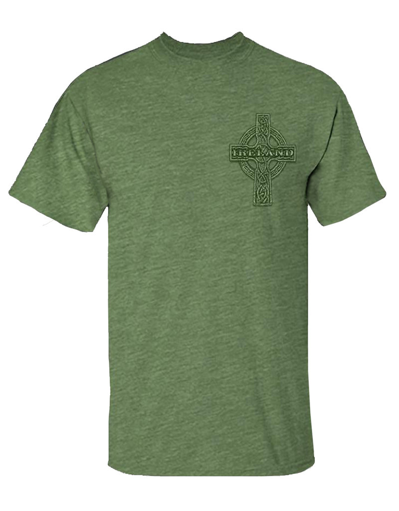 Coastal Tees Celtic Cross Ireland T-shirt
