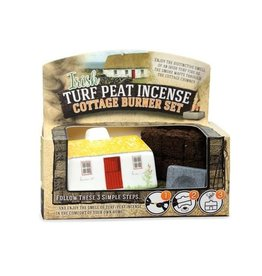The Turf Peat Incense Co. Irish Cottage Turf Burner Set