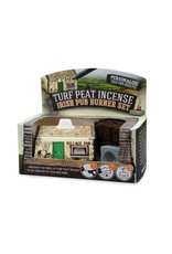 The Turf Peat Incense Co. Irish Pub Turf Burner Set