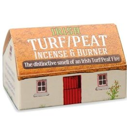 The Turf Peat Incense Co. Irish Peat Incense and Burner Set